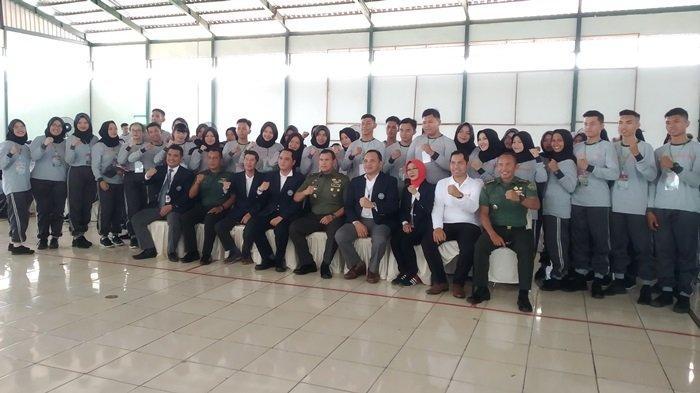 Kasdam II Sriwijaya Tekankan Pentingnya Bela Negara kepada Mahasiswa Baru Poltekpar Palembang