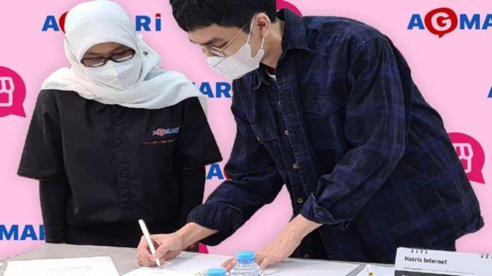 Rangkaian kegiatan KATALOQ berkerjasama dengan Asosiasi Guru Marketing Indonesia (AGMARI) melaksanakan Program Berbasis Projek untuk mengawal langkah digitalisasi para pelaku UMKM di berbagai daerah, 12 Agustus 2021 lalu.