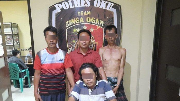 Tim Singa Ogan Polres OKU Tangkap Kawanan Pencuri, Angkut Tiga Ekor Kerbau Sekaligus