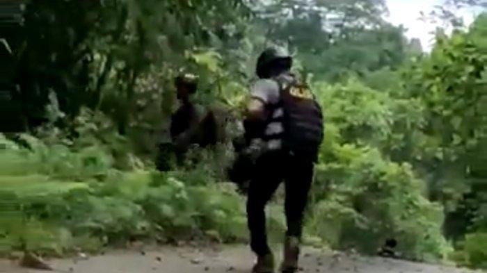 ROMBONGAN Danrem Dihujani Tembakan, Pasukan Yonif Raider 762 Serang Balik: KNPB Terbirit-birit