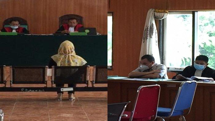 Berurai Air Mata di Ruang Sidang, IRT di Palembang Ini Cerita ke Hakim Soal Perbuatan Kasar Suami