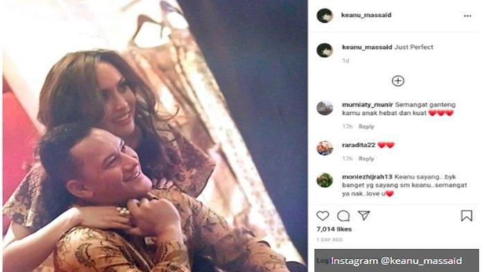 Keanu Massaid unggah potret jadul Adjie Massaid dan Angelina Sondakh