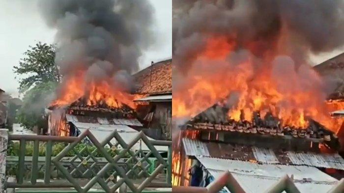 BREAKING NEWS : Pabrik Kasur di 12 Ulu Palembang Terbakar