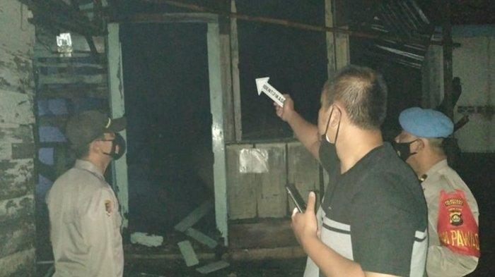 Kebakaran di Palembang, Rumah Milik Warga Lorong Hikmah IT I Terbakar Saat Sedang Tidur Lelap