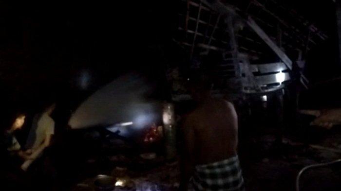 Lagi, Kebakaran Terjadi di OKU Timur: Rumah Kosong Ditinggal Pergi Ke Tempat Mertua