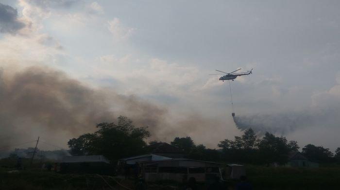 Anshori Soal Api di Lahan Gambut: Sengaja Dibakar untuk Mengurung Ikan