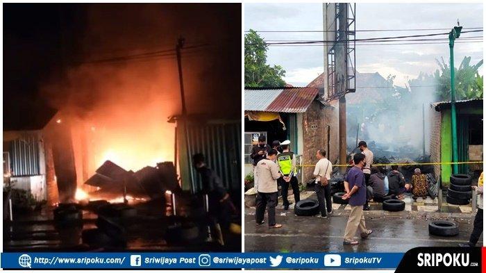 ISENG Bakar Sampah, Tiga Ruko Ludes Dilalap Api, Satu Unit Mobil Innova Milik Nurcholis Ikut Hangus