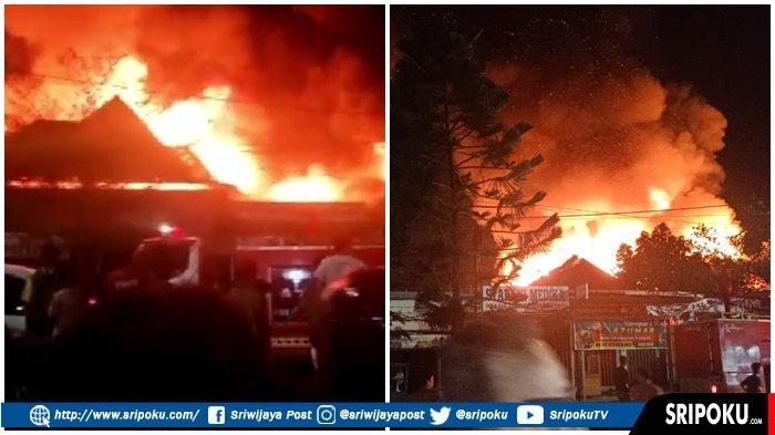API dari Rumah Bu Ratna, Kebakaran di Pemukiman Warga di 7 Ulu Palembang Diduga Kompor Gas Meledak