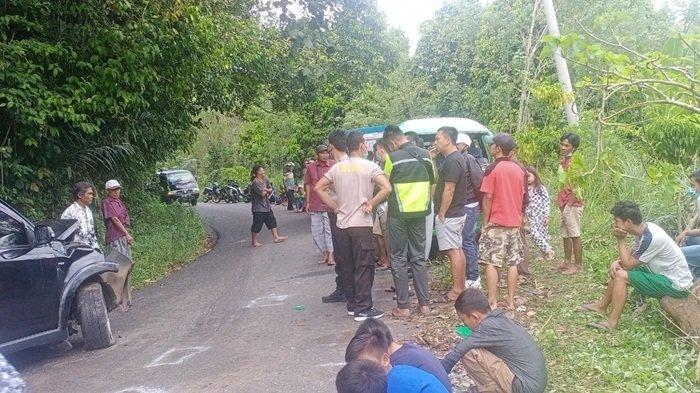 Kecelakaan Beruntun di OKU Selatan, Berawal Dari Adu Kambing, 3 Mobil Ringsek: Jadi Tontonan Warga