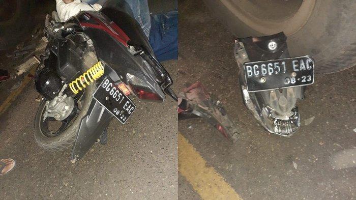 Kecelakaan di Jalan Lintas Sumatera Lahat, Pengendara Motor Meninggal Tabrak Tronton yang Parkir