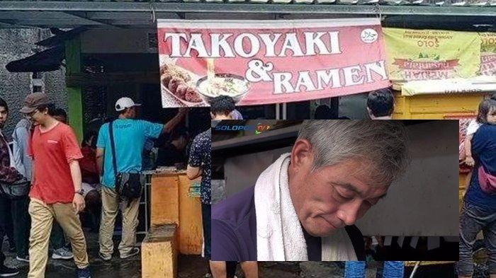 Pemilik Kedai Takoyaki di Solo Asli Orang Jepang, Tempat Sederhana Dagangan Ludes tak Sampai 2 Jam!