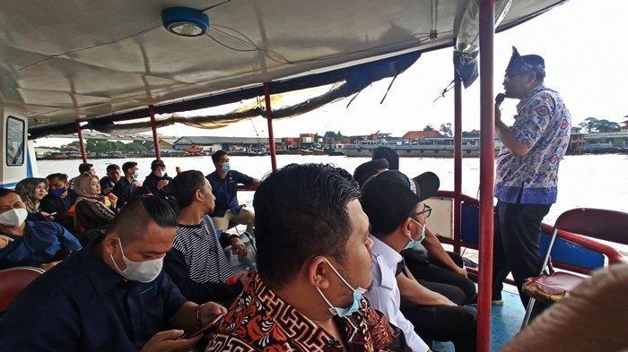 HIPMI Ikut Bangkitkan Wisata Sejarah dengan Pariwisata Melintasi Perairan Sungai Musi