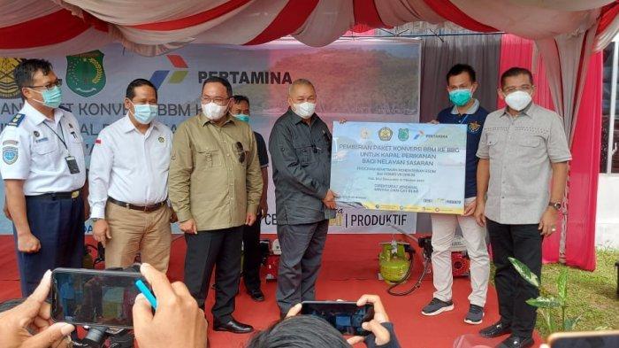 Nelayan Sasaran Program Konversi BBM ke BBG, di Musi Banyuasin Bisa Hemat Hingga Rp50 Ribu per Hari