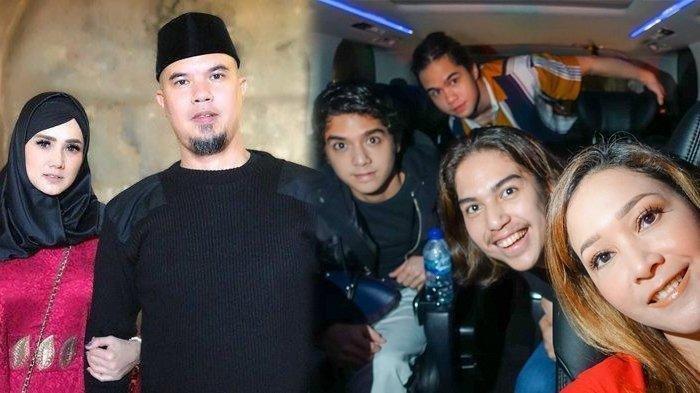 Kolase Ahmad Dhani, Mulan Jameela, Maia Estianty dan ketiga putranya
