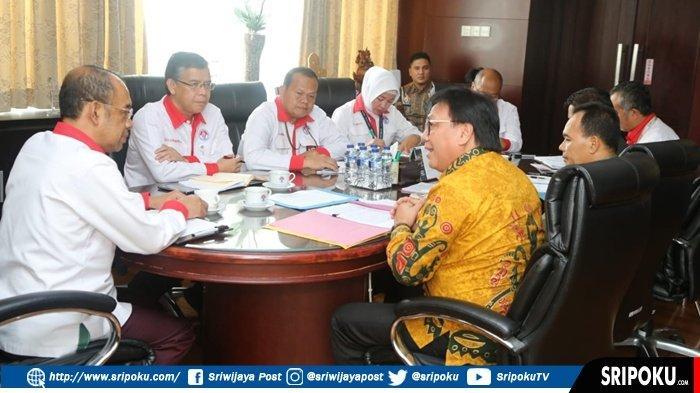 Kawal Kejelasan Status Politeknik Olahraga Indonesia, Nasrun Umar Temui Sesmenpora RI  Di Jakarta