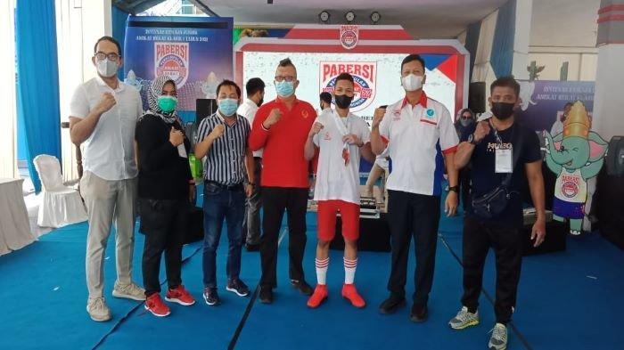 Sumsel Sabet Perunggu Pada Kejuaraan Invitnas Angkat Berat di Padepokan Pringsewu Lampung