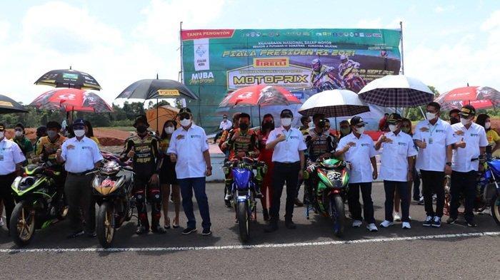 Tanpa Penonton, Muba Gelar Event Kejurnas Motoprix Piala Presiden 2021: Disiarkan Streaming