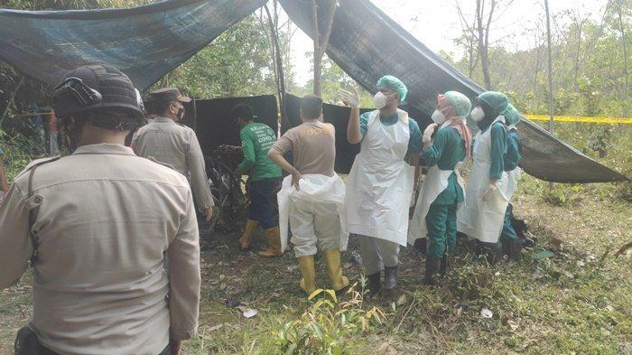 Parsidi Ditemukan di Dalam Tanah Pakai Baju Muslim, Mayatnya Diantar ke Muba Dikawal Ketat Polisi