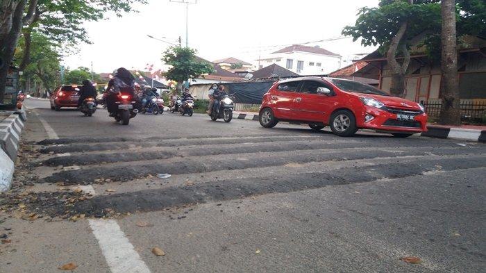 Portal Jalan Seduduk Putih Palembang