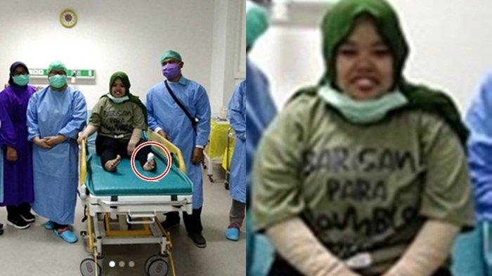 Kekeyi Diinjak Sapi, Dibawa ke Rumah Sakit Jari Kaki Eks Rio Ramadan Terluka 'Lebih Baik Sakit Hati'
