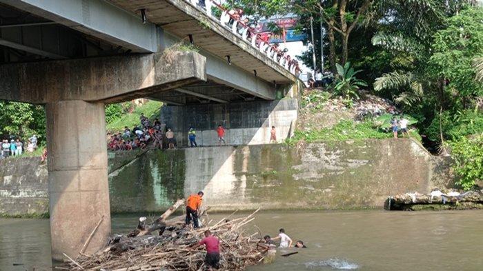 Kondisi Tempat Pelajar SMP di Lubuklinggau Tenggelam di Sungai Kelingi, Banyak Batu dan Air Keruh