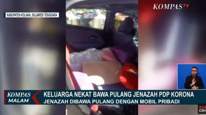 Keluarga PDP Corona Nekat Bawa Pulang Jenazah Bikin Heboh, Buka Bungkus Plastik & Makamkan Sendiri