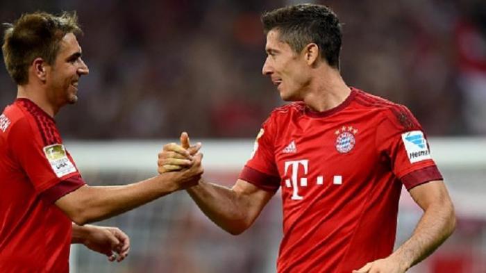 Bundesliga - Lewandowski Cetak Quattrick, Muenchen Menang Dramatis 4-3 atas Hertha Berlin