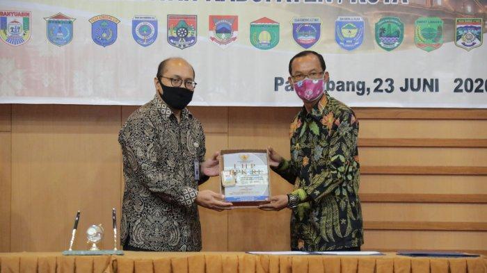 10 kali terima WTP, Walikota Palembang Harnojoyo : Ini Menjadi Pemicu Pemkot Lebih Baik Lagi