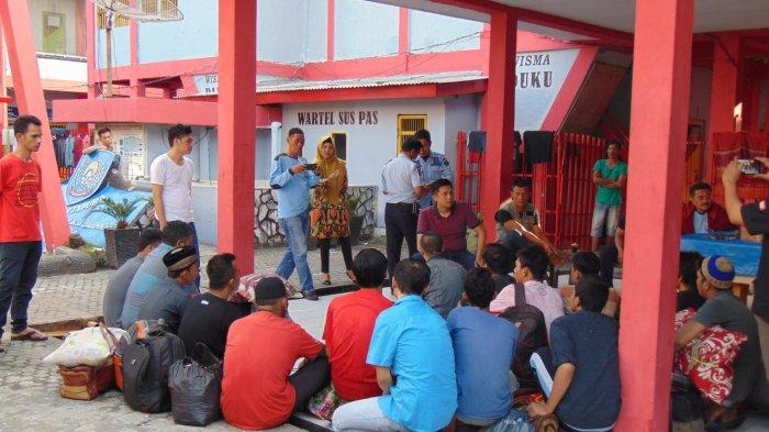 Antisipasi Over Kapasitas, 23 Narapidana Asal Martapura Dipindahkan ke Lapas Palembang