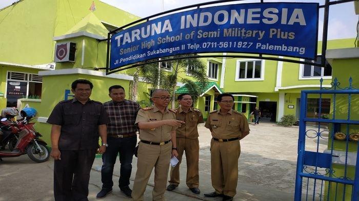 SMA Taruna Indonesia Palembang Disidak Pasca Tewasnya DB, Kadisdik Sumsel Ungkap Beberapa Temuan Ini
