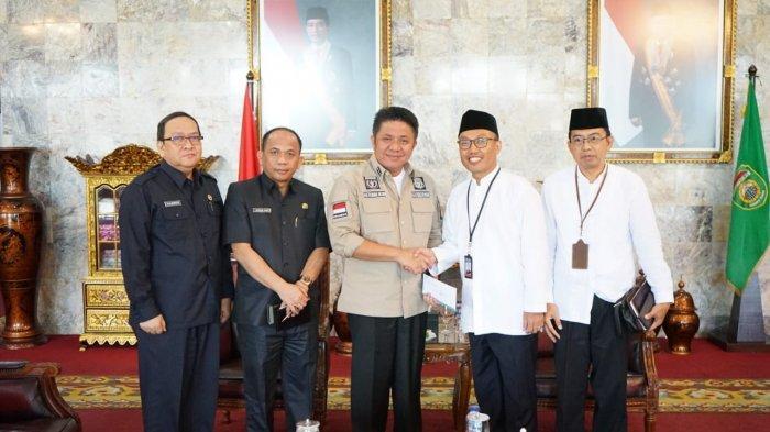 Herman Deru Harapkan Bank Indonesia (BI) Jaga Sinergitas dengan Pemprov Sumsel