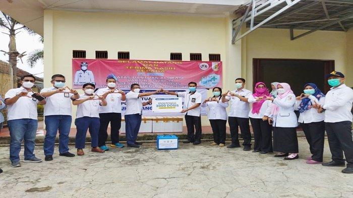 Bantu Penanganan Covid-19, Pusri Palembang Berikan 3000 Dosis Vaksin ke Warga Tulang Bawang Lampung