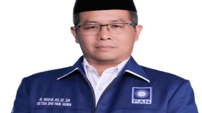 H Rabik Kembali Dipilih sebagai Ketua DPD PAN Muba untuk Periode 2020-2025, Ini Pertimbangannya