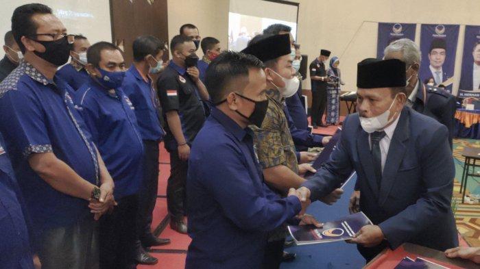 NasDem Target Raih 8 Kursi di Pileg 2024, Incar Kursi Ketua DPRD Muara Enim, 'Siap Panaskan Mesin'