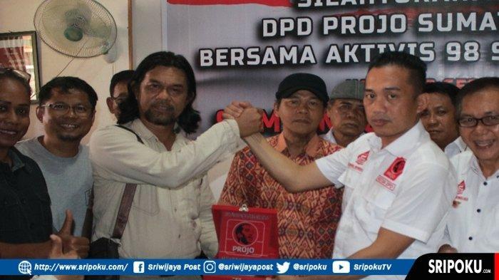 DPD Projo Sumsel dan Aktivis 98 Kumpul Bersama Kirim Doa Buat Almarhum Presiden ke 3 BJ Habibie