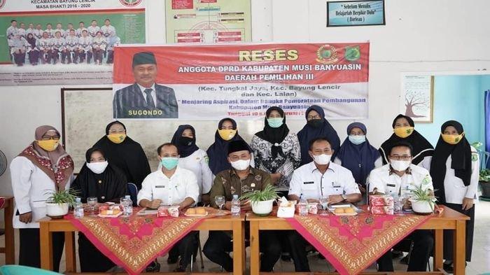 Ketua DPRD Muba Serap Aspirasi di Lingkungan Pendidikan, Reses Anggota DPRD Muba Dapil III