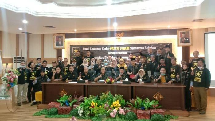 RESMI Dideklarasikan Amien Rais, Ketua DPW Partai Ummat Sumsel Ini Targetkan Tiga Besar Pemilu 2024