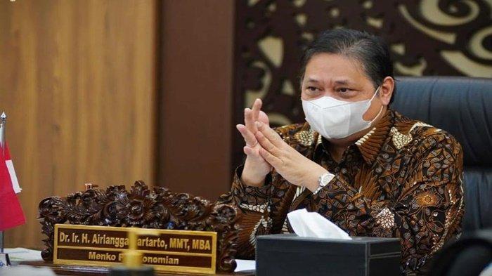 Menko Perekonomian Airlangga Hartarto: Penerima Banpres Ditambah 4 Juta untuk UMKM-PKL
