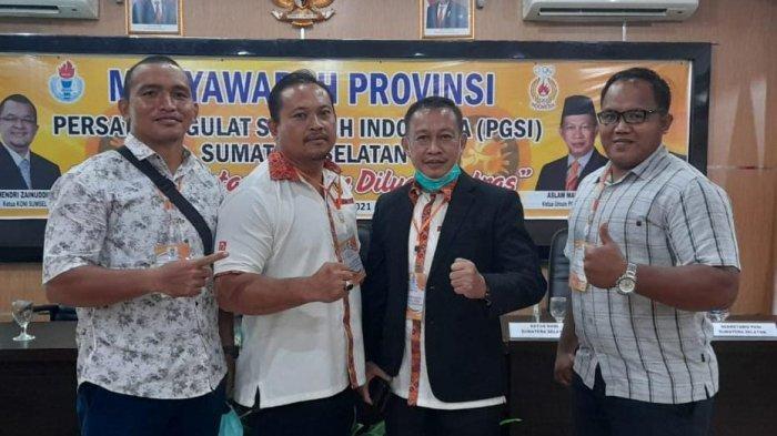 Dua Kali Pimpin PGSI Sumsel, Aslam Mahrom Optimis Gulat Sumsel Sabet Medali Emas di PON Papua