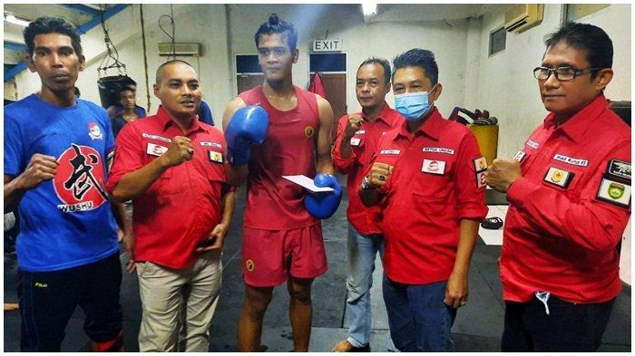 Sambangi Atlet Pelatda PON Sumsel, Ketum Wushu Asrul Janjikan Bonus Medali Rp 20 Juta