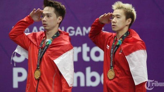 Alasan Kevin Sanjaya & Marcus Fernaldi, Paling Terkesan Dengan Medali Asian Games 2018 di Jakarta
