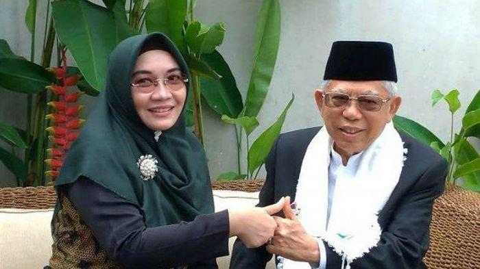 Istri Wakil Presiden Maruf Amin,Wury Estu Handayani:Si Perawat Puskemas yang Setia Dampingi Abah
