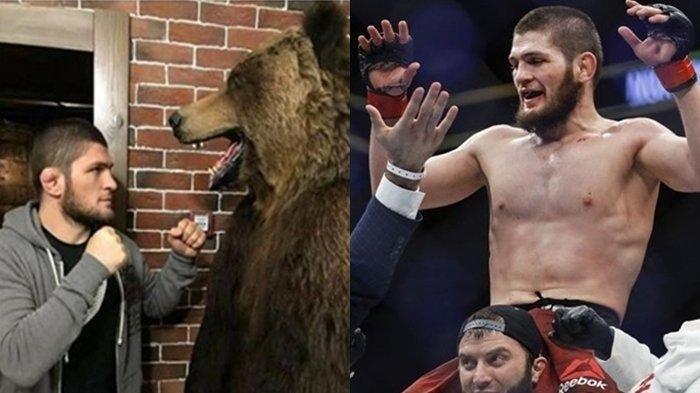 Akhirnya Khabib Nurmagomedov Ngaku Ingin Manggung lagi, Asal Lawan Legenda UFC: Titip Salam Buat GSP