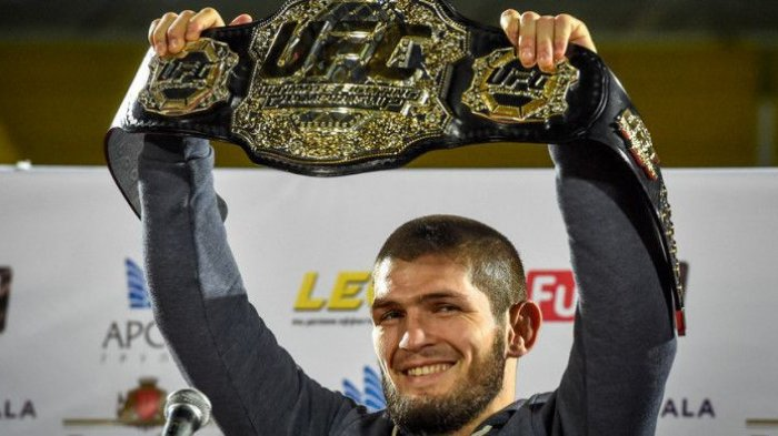 Respon Khabib Atas Kemenangan Justin Gaethje Pada UFC 249,Saya Tidak Akan Jatuh Sebelum Ditembak