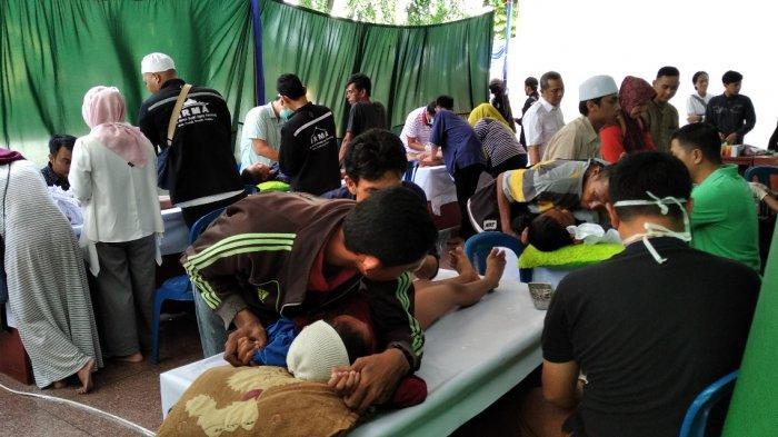 Ikatan Remaja Masjid Agung (IRMA) Masjid Agung Palembang Adakan Khitanan Massal