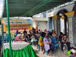 Sebanyak 58 Anak Ikut Khitanan Massal di Kelurahan Srijaya, Bantu Masyarakat di Tengah Masa Pandemi