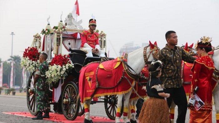 Mengenal Lebih Dekat Ki Jagarasa Si Pembawa Bendera Pusaka di HUT RI Ke-74 Tahun di Istana Negara