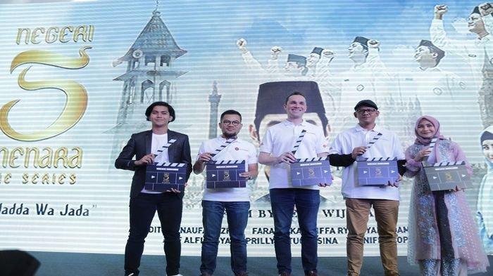 """Sambut Ramadhan, MAXstream, Melon dan E-Motion Luncurkan Serial """"Negeri 5 Menara"""""""
