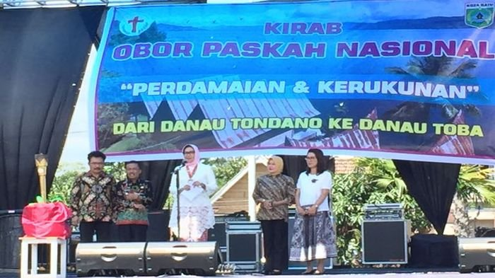 Kirab Obor Paskah Nasional (KOPAS) akan Melintasi Tiga Pulau