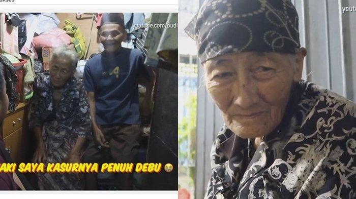 VIRAL Kisah Pasangan Tua Renta di Surabaya yang Bertahan Hidup dengan Berjualan Rujak Cingur